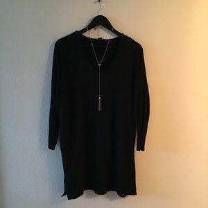 BNWOT! AEO Black Sweater Dress